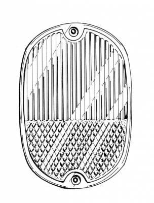 EXTERIOR - Light Lenses, Seals & Parts - 211-241G-GER