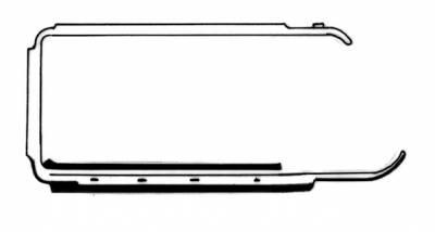 EXTERIOR - Door Rubber/Plastic - 211-321-L