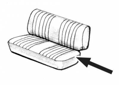 Seat Covers & Padding - Middle Seat Pads - 211-508