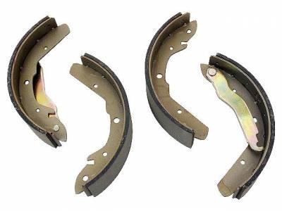 Brake System - Brake Shoes & Springs - 211-609-537N