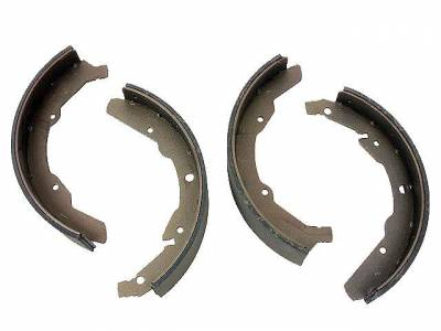 BRAKE SYSTEM - Brake Shoes & Springs - 211-609-537J