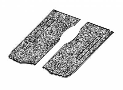 Carpet Kits & Floor Mats - Carpet Front Floor & Pedestal - 211-665B