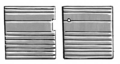 INTERIOR - Door Panels / Rear Panels & Accessories - 261-035-BK
