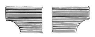 INTERIOR - Door Panels / Rear Panels & Accessories - 221-036-BK