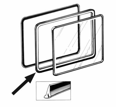 EXTERIOR - Side Pop Out Window Parts - 221-131A