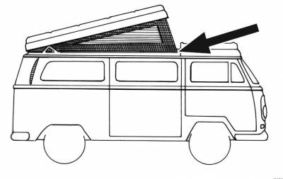 EXTERIOR - Camper Tops, Seals & Parts - 231-249A