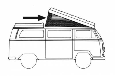 EXTERIOR - Camper Tops, Seals & Parts - 231-702-YL