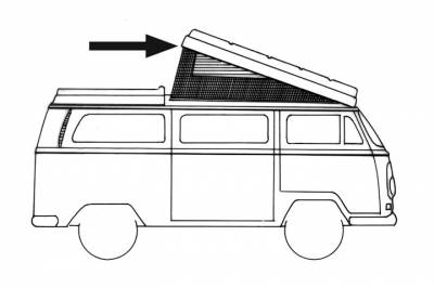 EXTERIOR - Camper Tops, Seals & Parts - 231-710