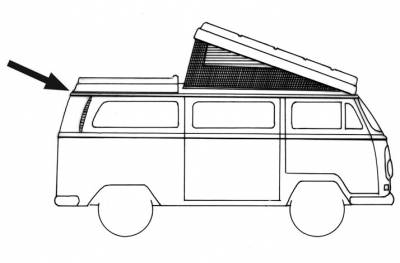 EXTERIOR - Camper Tops, Seals & Parts - 231-711