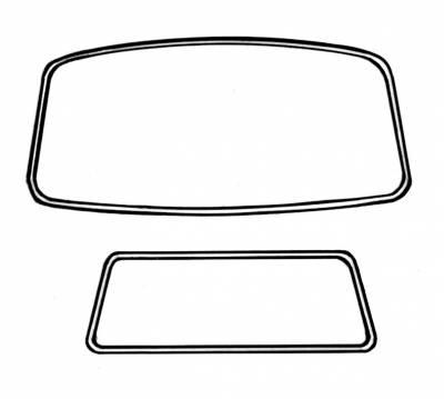 Window Rubber - American Style Window Rubber Kits - 211-037A