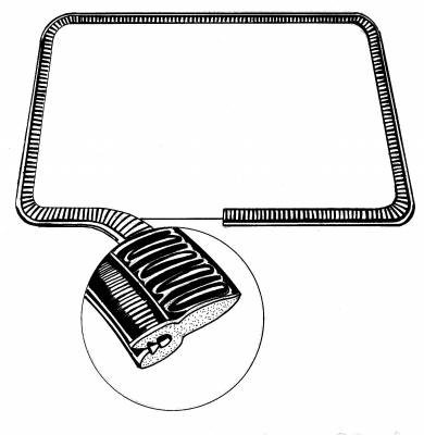 ENGINE COMPARTMENT - Engine Seals - 251-226A