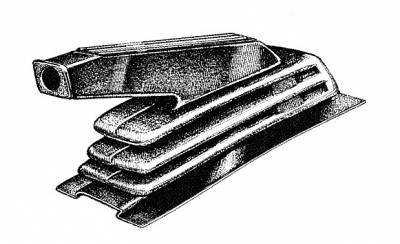 INTERIOR - Interior Rubber & Plastic - 251-7141B-BK