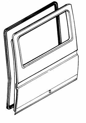 EXTERIOR - Door Rubber/Plastic - 251-8215