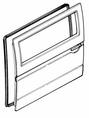 EXTERIOR - Door Rubber/Plastic - 251-8362