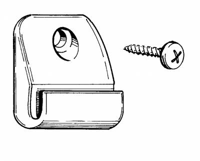 INTERIOR - Interior Rubber & Plastic - 251-8620-WH