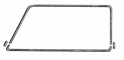 EXTERIOR - Window Molding - 255-8582