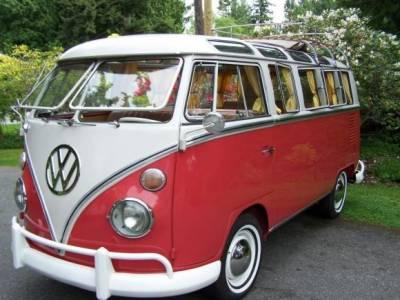 VW BUS - VW EARLY BUS - 1963 VW BUS - EXTERIOR - Safari