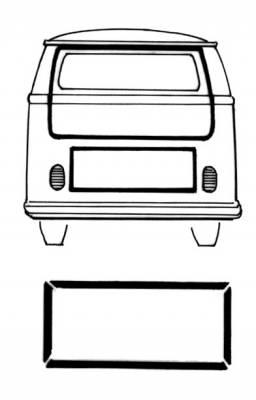 EXTERIOR - Body Rubber & Plastic - 261-711C