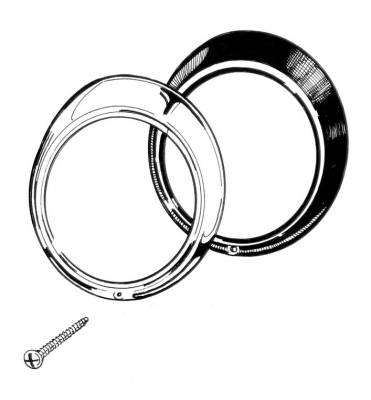 EXTERIOR - Light Lenses, Seals & Parts - 311-100