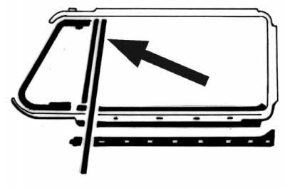 EXTERIOR - Door Rubber/Plastic - 311-433A