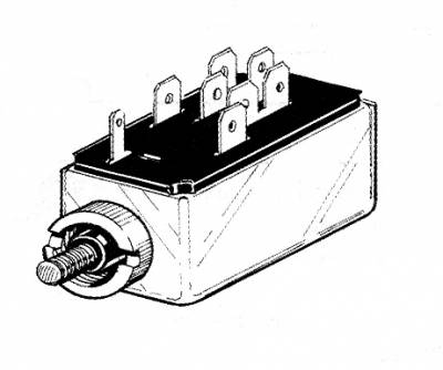 ELECTRICAL - Headlight Switches & Wires - 311-531B