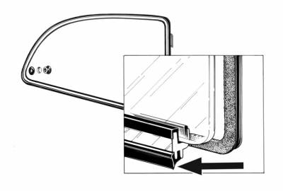 EXTERIOR - Quarter Window Parts - 361-137A-L/R