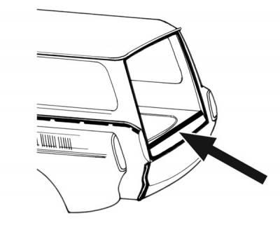 EXTERIOR - Body Rubber & Plastic - 361-725