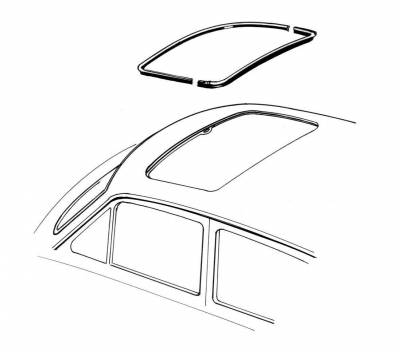 EXTERIOR - Sunroof Covers, Seals & Hardware - 363-213B