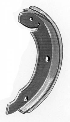 Brake System - Brake Shoes & Springs - 131-609-537C