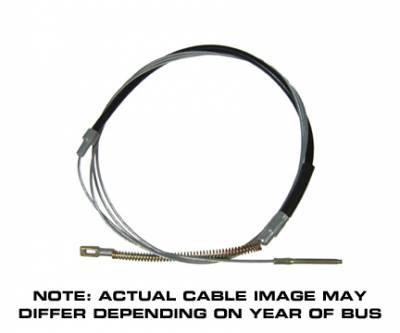 BRAKE SYSTEM - Brake Cables & Pedal Assembly - 211-609-701B