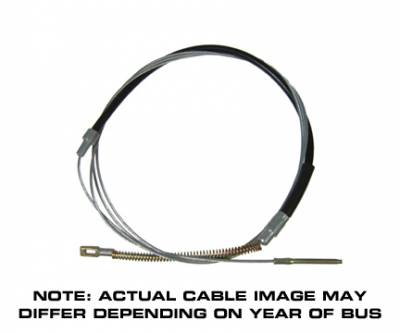 BRAKE SYSTEM - Brake Cables & Pedal Assembly - 211-609-701P