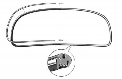 EXTERIOR - Window Metal Molding - 113-325A