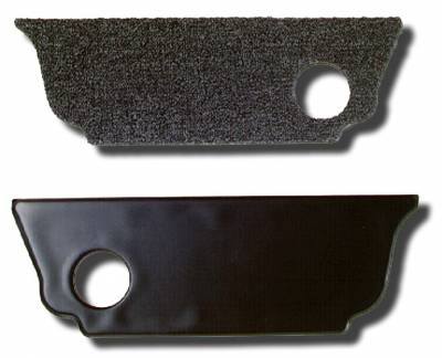 INTERIOR - Seat Parts & Accessories / Rear Kick Panels - 151-376