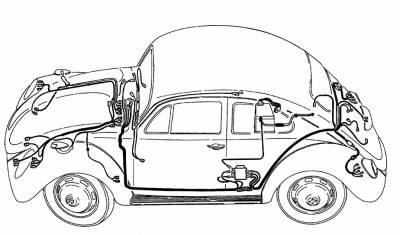 ELECTRICAL - Wiring Looms - WK-153-1960