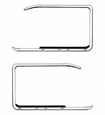 EXTERIOR - Door Hardware - 300-321A-L/R