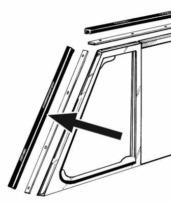 EXTERIOR - Door Rubber/Plastic - 151-353C-L/R