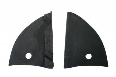 CONVERTIBLE TOP PARTS - Top Pads, Hinge Covers & Parts - 151-197A-L/R