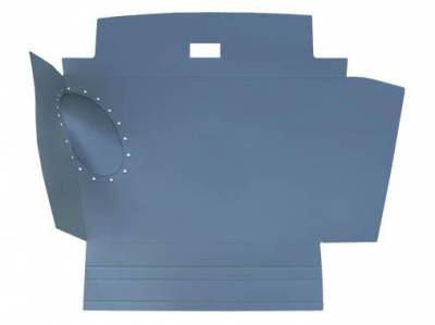 TRUNK COMPARTMENT - Trunk Carpet Kits & Liners - 141-509F