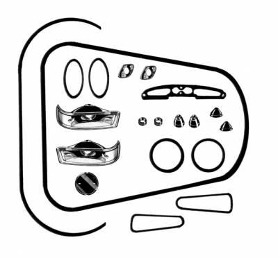 EXTERIOR - Body Rubber & Plastic - 141-021D