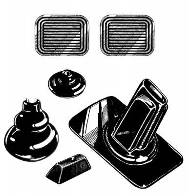 INTERIOR - Interior Rubber & Plastic - 211-046