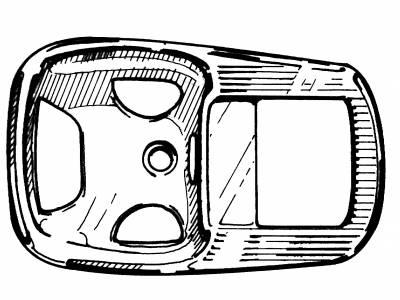 INTERIOR - Interior Rubber & Plastic - 113-239B-CM