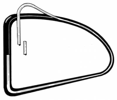 EXTERIOR - Quarter Window Parts - 315-347