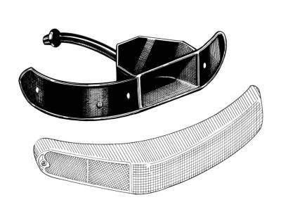 EXTERIOR - Body Rubber & Plastic - 311-153C-L/R