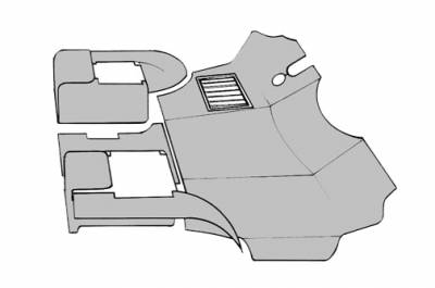 INTERIOR - Dash Parts & Accessories - 251-8015-BK