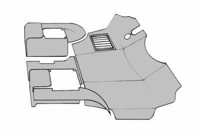 INTERIOR - Dash Parts & Accessories - 251-8015-CH