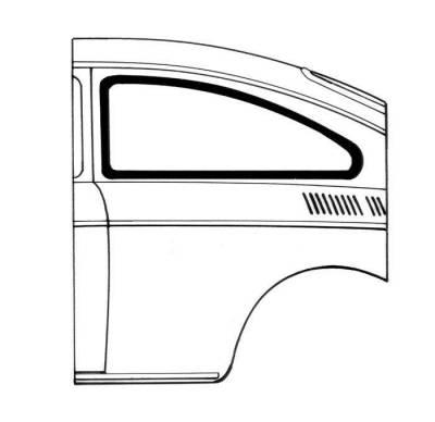 Window Rubber - Window Rubber American - 315-321A