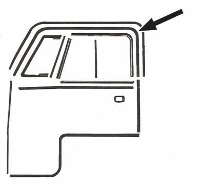 EXTERIOR - Door Rubber/Plastic - 211-835