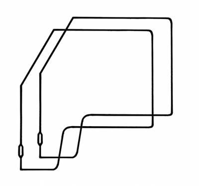 EXTERIOR - Door Rubber/Plastic - 211-039