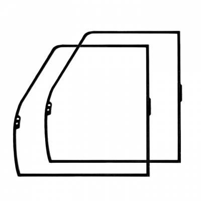 EXTERIOR - Door Rubber/Plastic - 311-711F-L/R