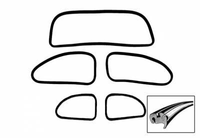 Window Rubber - American Style Window Rubber Kits - 113-0146A